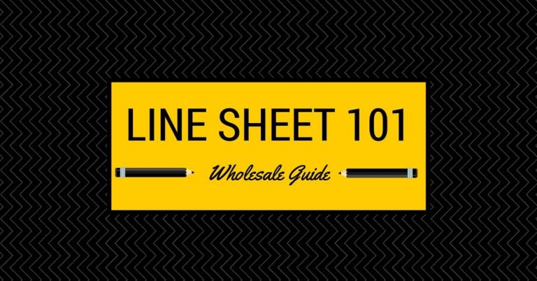 What Are Line Sheets How To Use Them For Wholesale