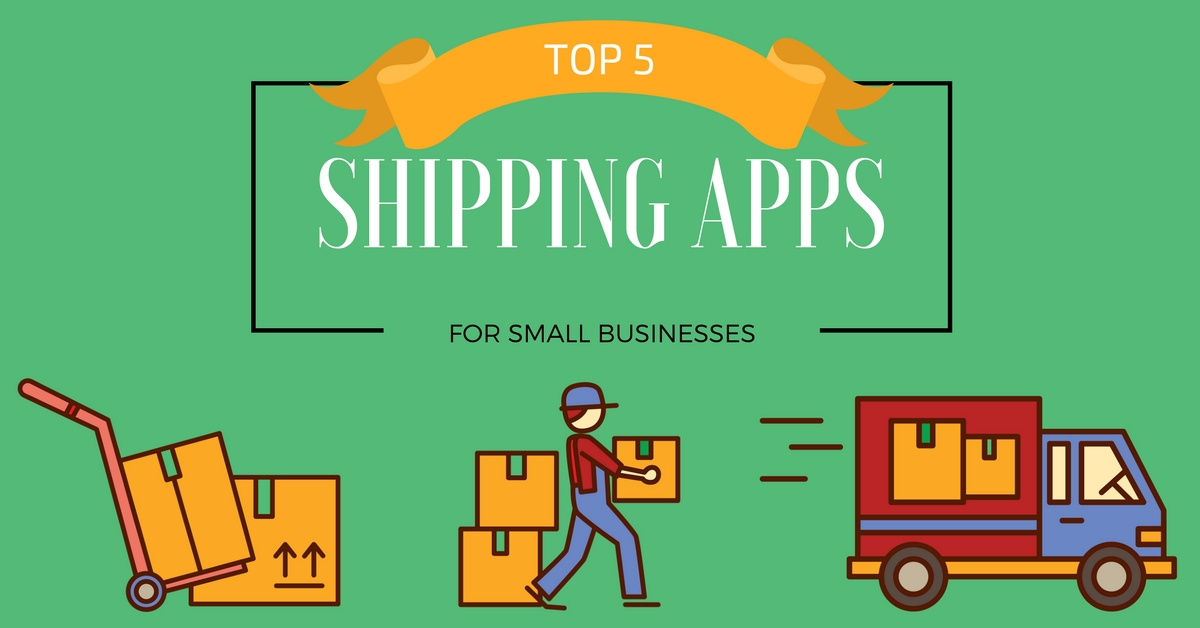 Top 5 Shipping Apps for Small Businesses   BRANDBOOM