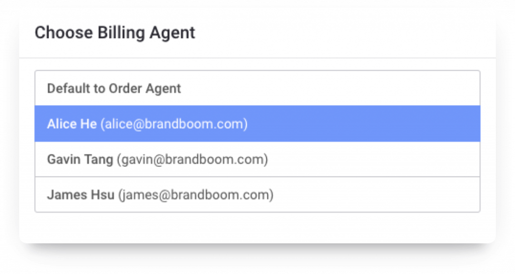 Choose Billing Agent With Brandboom