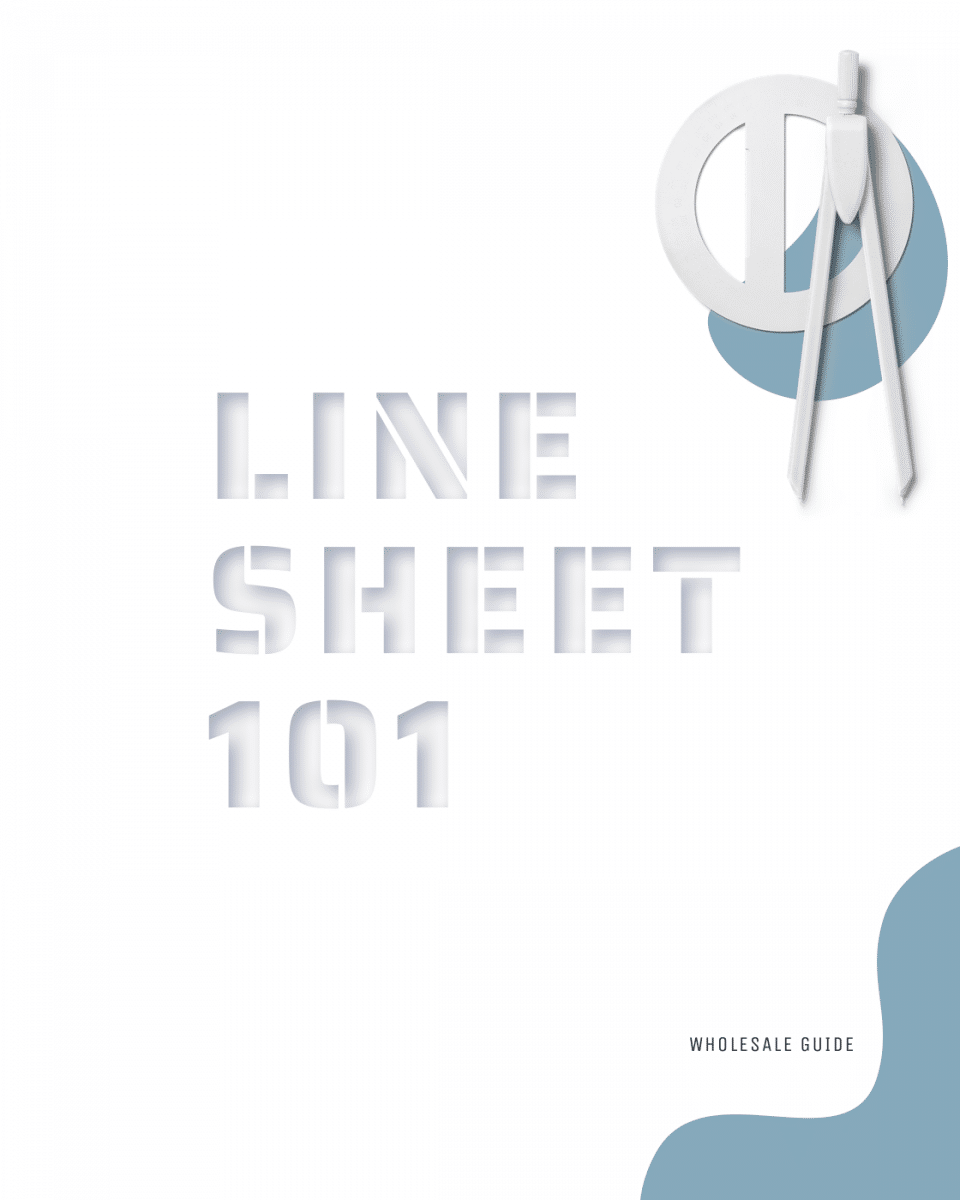 Article - Line Sheet 101